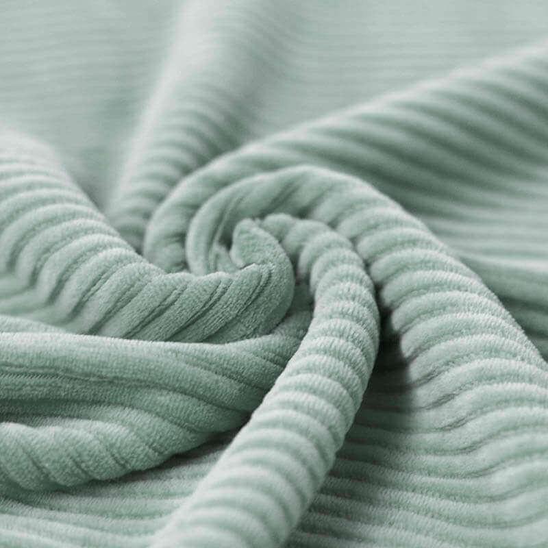 63 cm RESTSTÜCK-Nicki Breitcord Jersey - Mint-