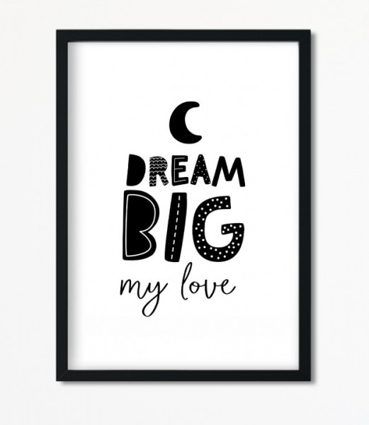 Poster *Dream* Kunstdruck