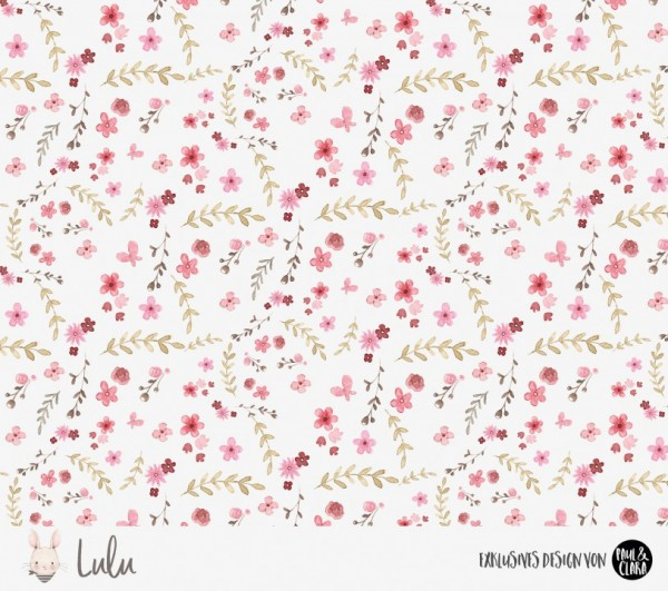 Eigenproduktion Lulu *Blumen* Kombi - French Terry