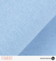30 cm RESTSTÜCK-Bündchen uni - hellblau *Schlauchware*