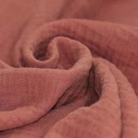 Baumwolle Musselin - Clay