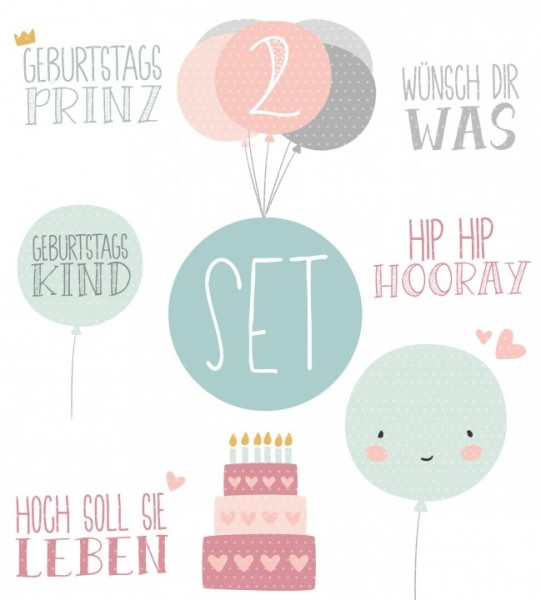 Plottervorlage Geburtstagskind