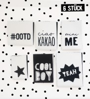 Label Set #BOYS - 6er Pack