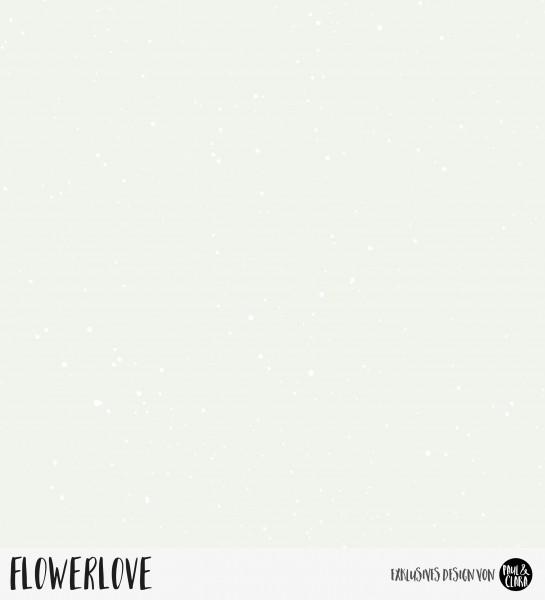 Flowerlove - Splash Mint *Bio-Jersey*