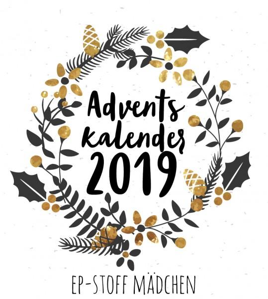 EP-Stoff Adventskalender - MÄDCHEN