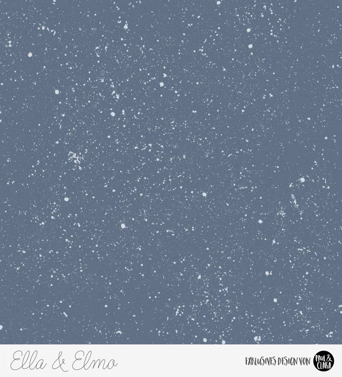 Ella & Elmo *Winter-Edition* - Kombi Blau *Bio-Sommersweat*