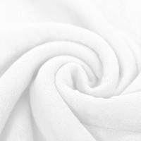 Frottee Stretch - Weiß
