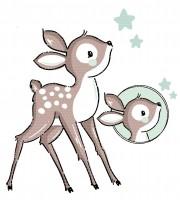 Plottervorlage Bambi Bob