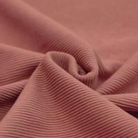 Feinripp Cord Jersey - Clay