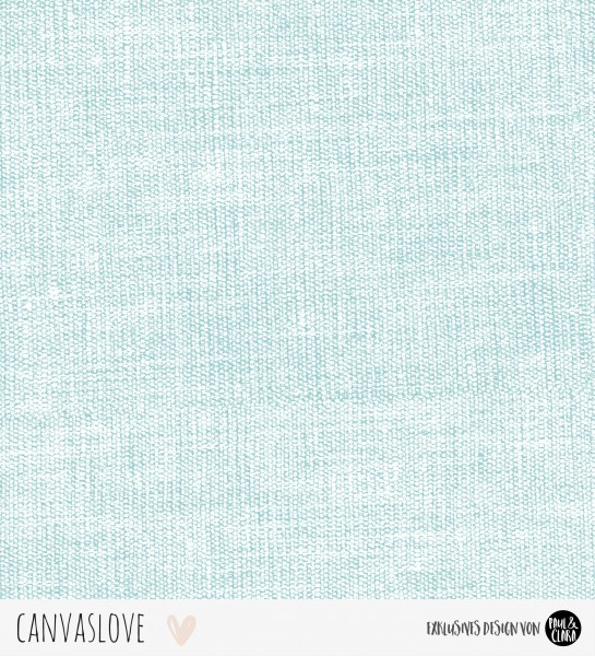 Canvaslove - Mint *Bio-Jersey*