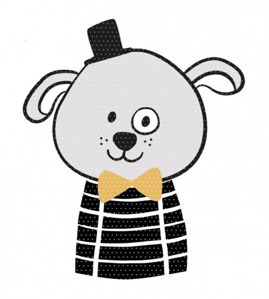 Plottervorlage Zirkusbande Benno Hund