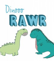 Applikationsvorlage Dino RAWR
