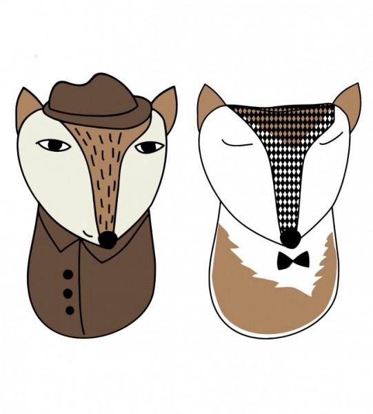 Plottervorlage ohFOX & FOXdetektiv
