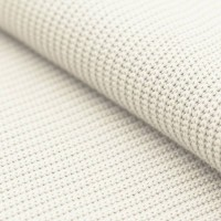 Grobstrick Strickstoff Baumwolle - Ecru