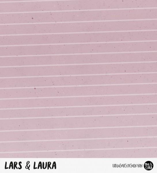 Lars & Laura - Kombi Rosa *Bio-Sommersweat*