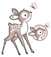 Plottervorlage Bambi Bella