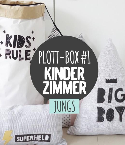 Deine Plottbox #1 - Jungs / DIY Projekte für deinen Plotter inkl. Vorlagen, Material und Anleitung