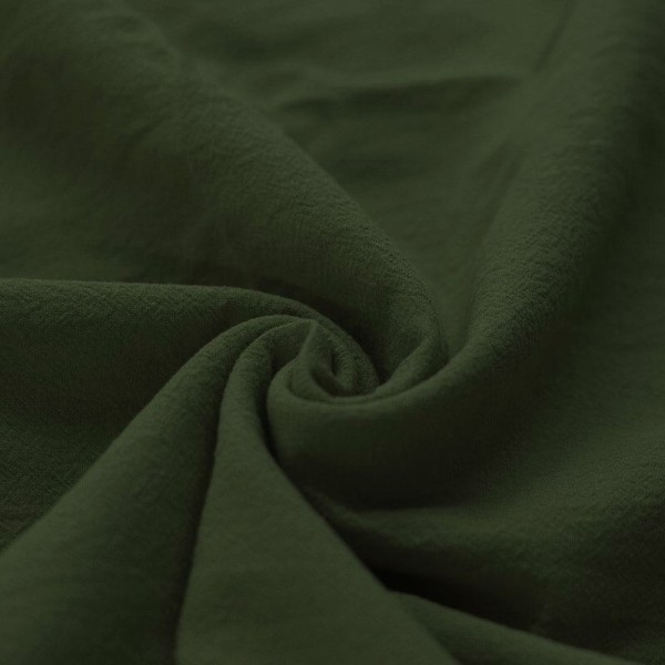 Stonewashed Baumwolle - Dunkelgrün