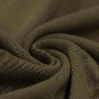 Feinstrick Strickstoff Baumwolle - Olive