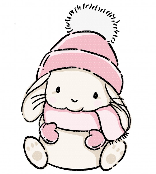 Stickdatei Winter Lulu