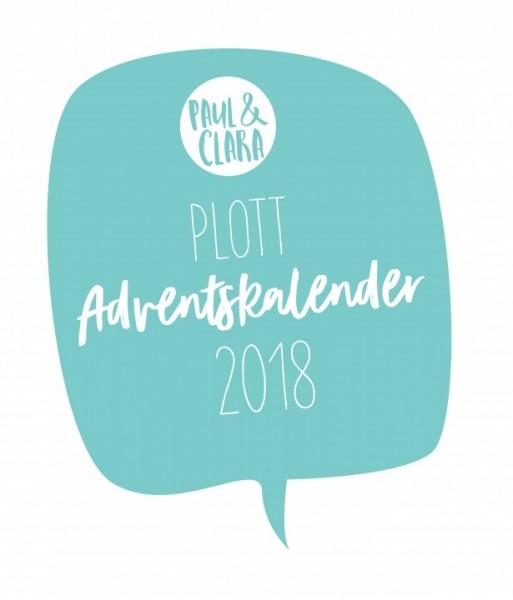 Adventskalender 2018 Plottervorlagen