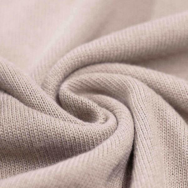 Feinstrick Strickstoff Baumwolle - Beige