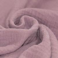 Baumwolle Musselin - Altrosa