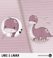 Lars & Laura - Panel Rosa *Bio-Sommersweat*