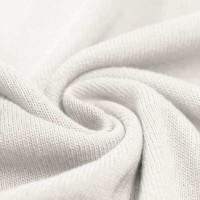 Feinstrick Strickstoff Baumwolle - Ecru