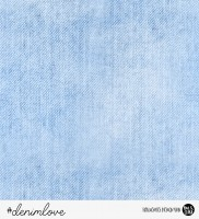 41 cm RESTSTÜCK-denimlove - Hellblau *Bio-Sommersweat*