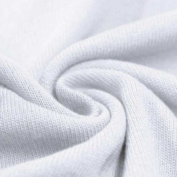 Feinstrick Strickstoff Baumwolle - Weiß