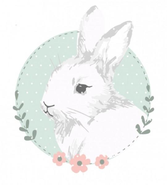 Plottervorlage bunnylove flowers
