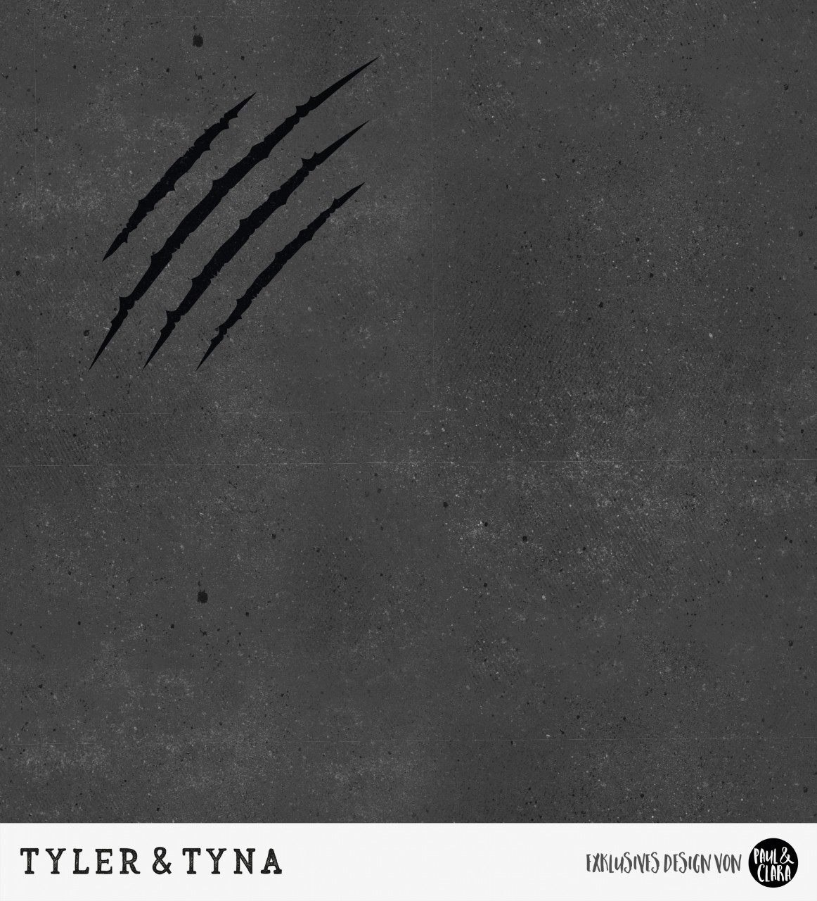Tyler & Tyna - Grunge Kombi Schwarz *Bio-Sommersweat*