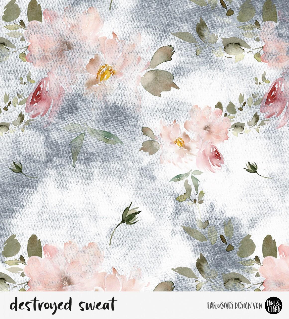 Destroyed Sweat Flowers *Bio-Sommersweat*