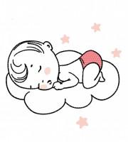 Stickdatei Mutterliebe Babywolke