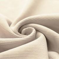 Waffelstrick Baumwolle - Beige