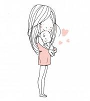 Plottervorlage Mutterliebe Mama
