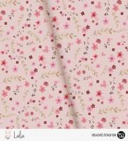 Lulu - Flowers Rosa *Bio-Jersey*