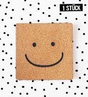 Kunstlederlabel *Smile*