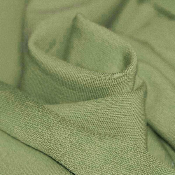 Sommersweat Uni - Olive