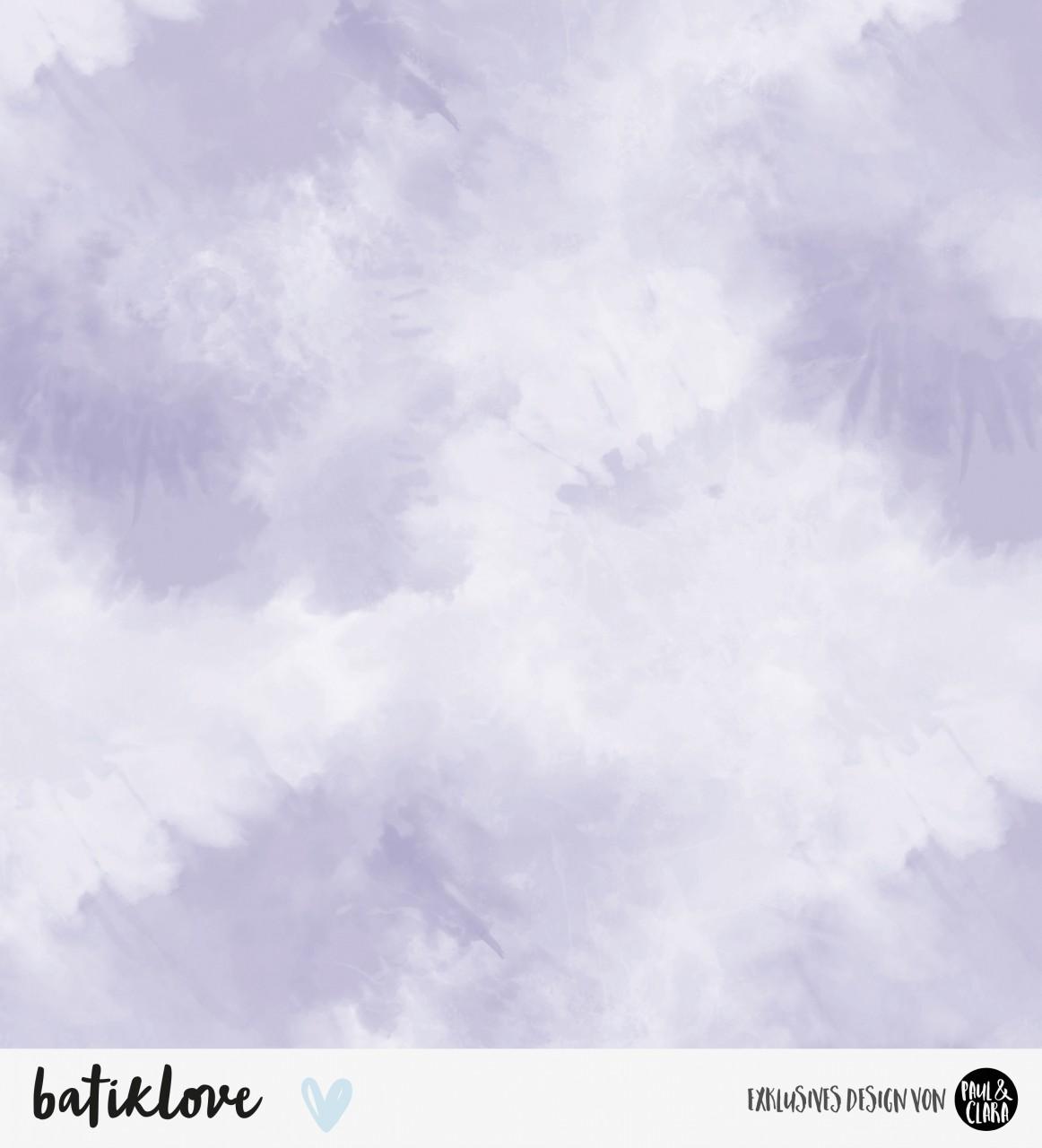 *VORBESTELLUNG* Batiklove - Lavendel *Bio-Jersey*