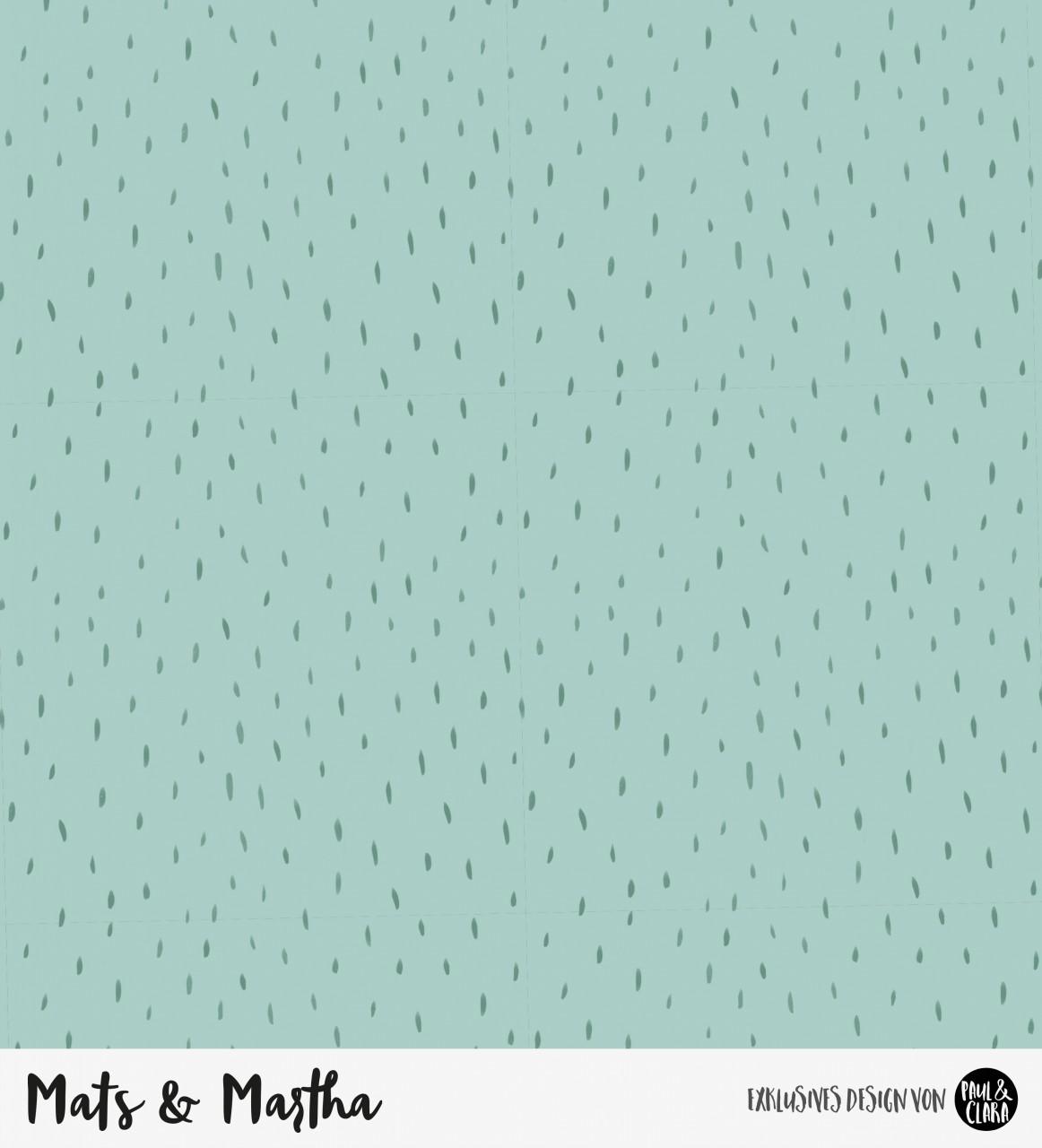 Mats & Martha - Kombi MINT *Bio-Sommersweat*