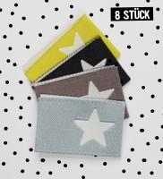 Label Sterne #2 - 8er Pack