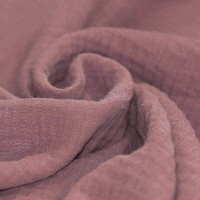 Baumwolle Musselin - Malve