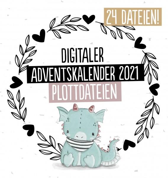 Adventskalender Plottervorlagen *2021*