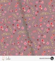 Lulu - Flowers Beere *Bio-Jersey*