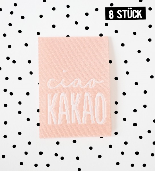 Label *ciao kakao* ROSA - 8er Pack
