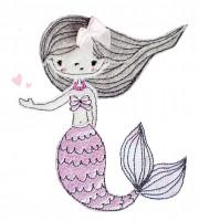 Stickdatei Meerjungfrau Ella