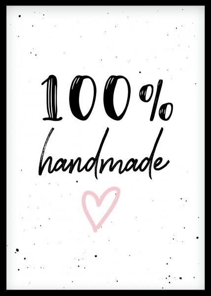 Postkarte *100% Handmade* A6