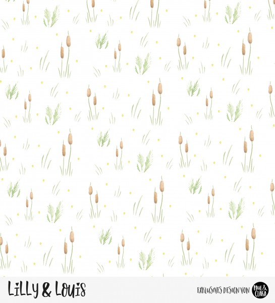 *B-WARE* Eigenproduktion Lilly & Louis - Kombi Schilf *Jersey*